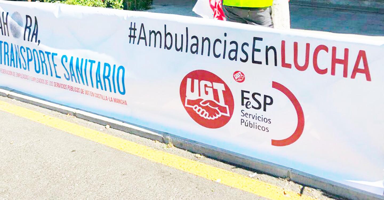 Unidas Podemos apuesta por la gestión 100% pública del Servicio de transporte sanitario
