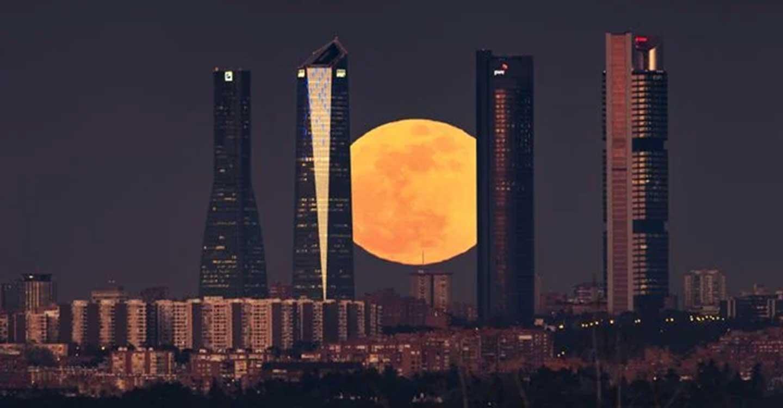 El próximo viernes 5 de junio tendrá lugar un eclipse penumbral que podrá observarse en España coincidiendo con el anochecer