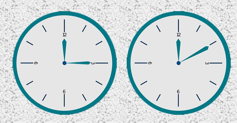 Este domingo de madrugada se retrasarán los relojes una hora : a las 3 volverán a ser las 2