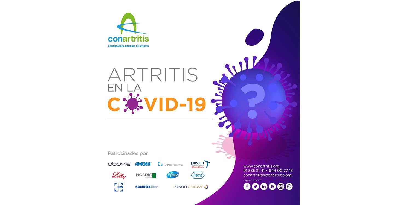 'Acrear' se adhiere a la campaña de la coodinadora nacional 'Conartritis' sobre la artritis en la COVID-19