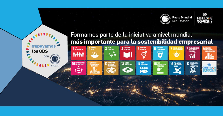 Adif y Adif AV se unen a la campaña #apoyamoslosODS promovida por la Red Española del Pacto Mundial