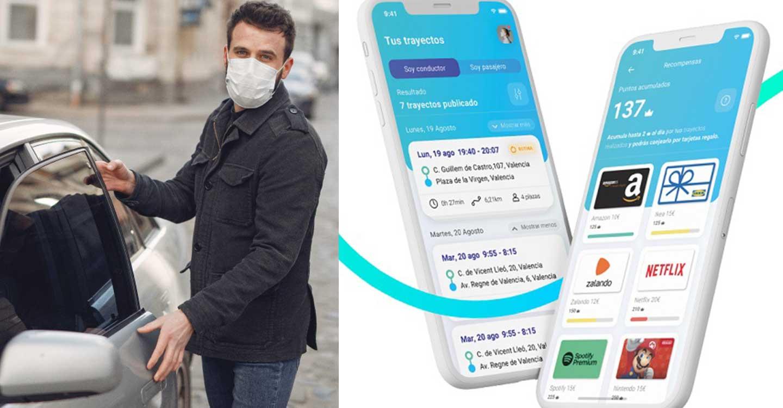 Lanzan una app para compartir coche y conectar pueblos con grandes núcleos urbanos