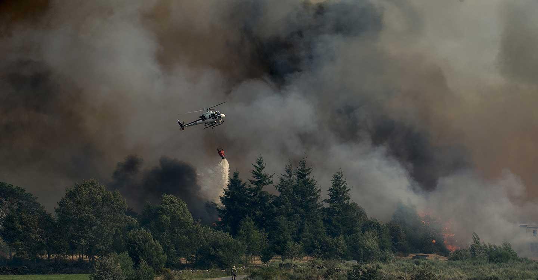 Ataire alerta del riesgo extremo de incendios forestales de cara a la intensa ola de calor prevista para este fin de semana en buena parte de españa