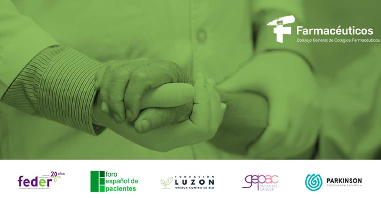 Pacientes y farmacéuticos suscriben un compromiso por la atención integral al paciente crónico desde la Farmacia Comunitaria