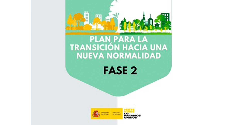 El BOE publica la orden que establece nuevas medidas de flexibilización para las unidades territoriales en Fase 2 dentro del Plan para la Transición hacia una Nueva Normalidad
