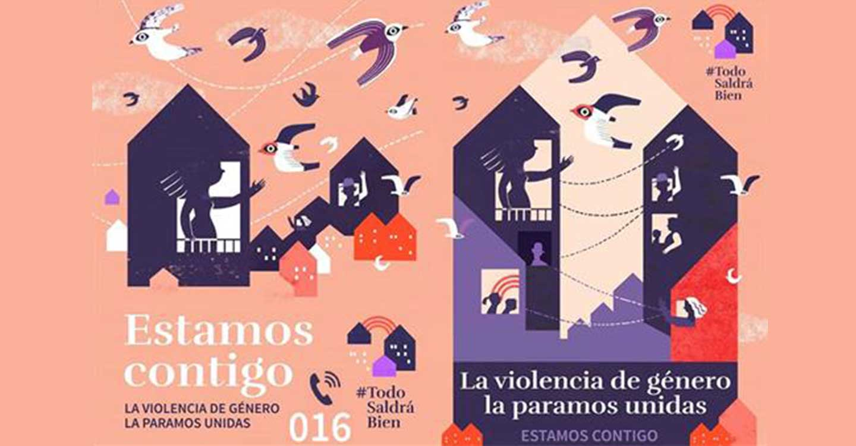 El Ministerio de Igualdad lanza una campaña de información a las víctimas de violencia de género durante la crisis del COVID-19
