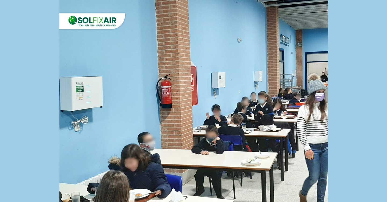 El colegio internacional Santo Tomás de Aquino refuerza su protocolo COVID con purificadores antivirus de última tecnología
