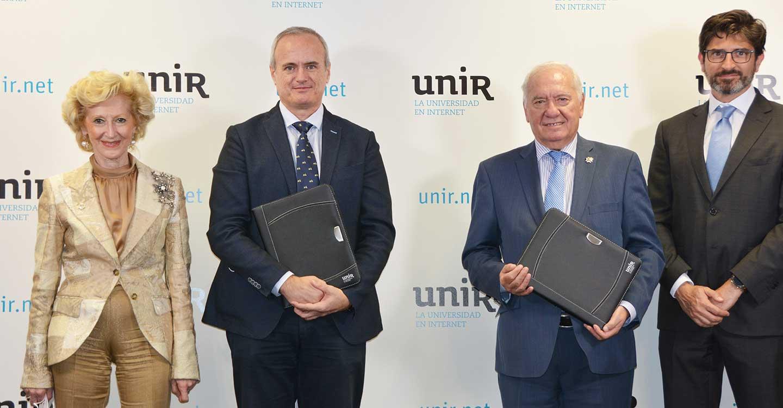 El Instituto Superior de Formación Sanitaria (ISFOS) del Consejo General de Enfermería y la UNIR se alían para ofrecer formación continuada de calidad a las enfermeras españolas