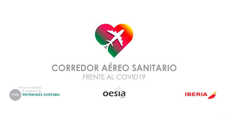 El Corredor Aéreo Sanitario toma impulso y alcanza los 76,6 millones de equipos de protección traídos a España