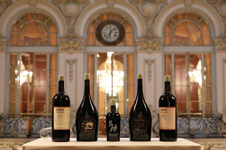 Encomienda de Cervera presenta en el Real Casino de Madrid sus nuevos vinos y aceites de origen volcánico