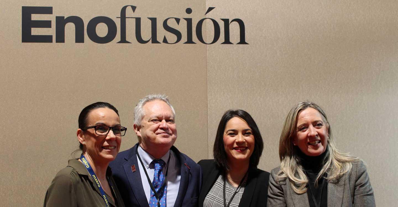 El Ayuntamiento de Ciudad Real muestra su apoyo a Enofusión, el encuentro internacional del vino de Madrid Fusión