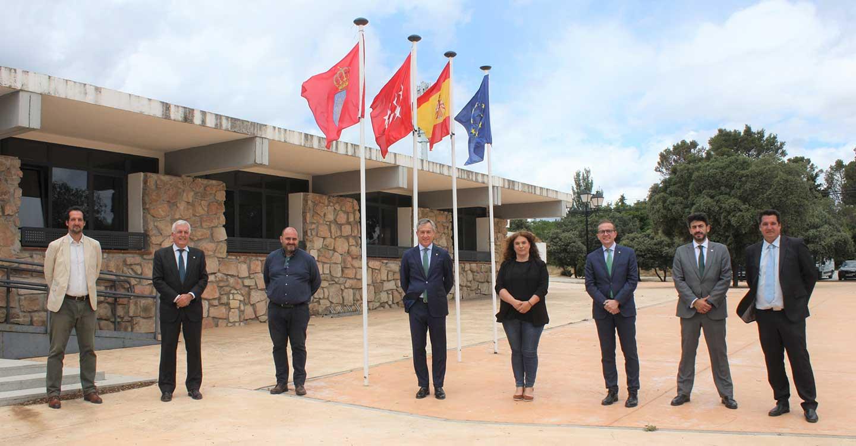 Eurocaja Rural proporciona financiación a GALSINMA para la creación de riqueza en la Sierra Norte de Madrid