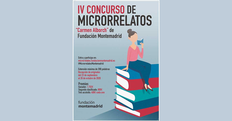 """Fallado el IV Concurso de Microrrelatos """"Carmen Alborch"""" de Fundación Montemadrid entre más de 6.500 textos"""