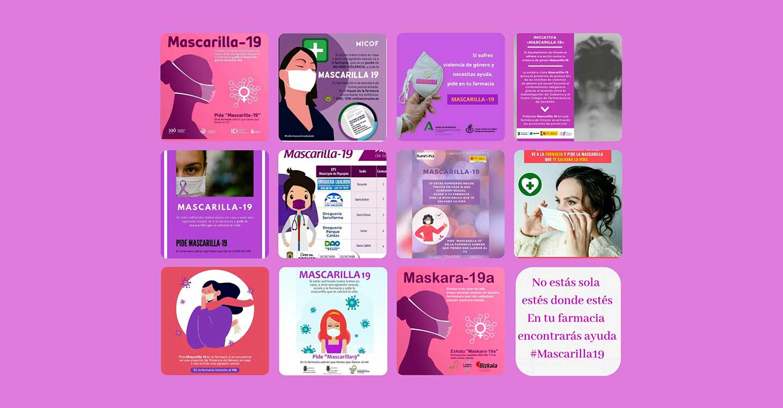 Los farmacéuticos españoles en primera línea también contra la violencia de género