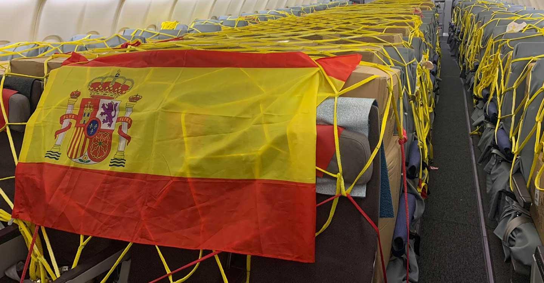 Fenin, Grupo Oesía e Iberia dejan en pausa su Corredor Aéreo tras aportar a España 122,74 millones de equipos sanitarios