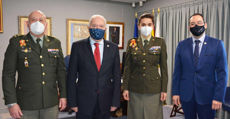 Frente común entre la Enfermería militar y civil para la lucha frente al COVID-19