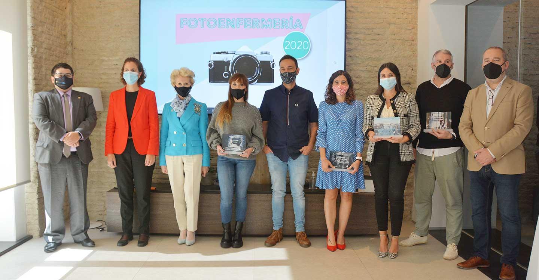 Los ganadores de FotoEnfermería 2020 recogen los premios de la edición que se ha convertido en el diario visual de la pandemia