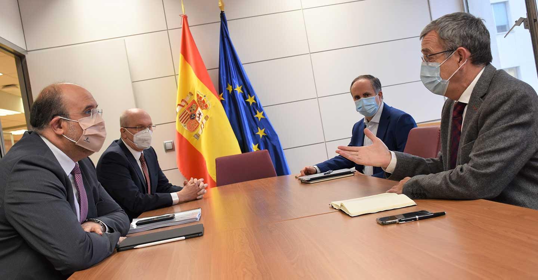 El Gobierno regional insiste en la despoblación como criterio a tener en cuenta en la asignación de fondos europeos