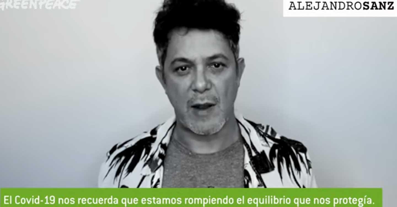 Greenpeace reúne en un vídeo a numerosos artistas como Alejandro Sanz o Elena Anaya para apoyar la transformación del sistema en clave verde