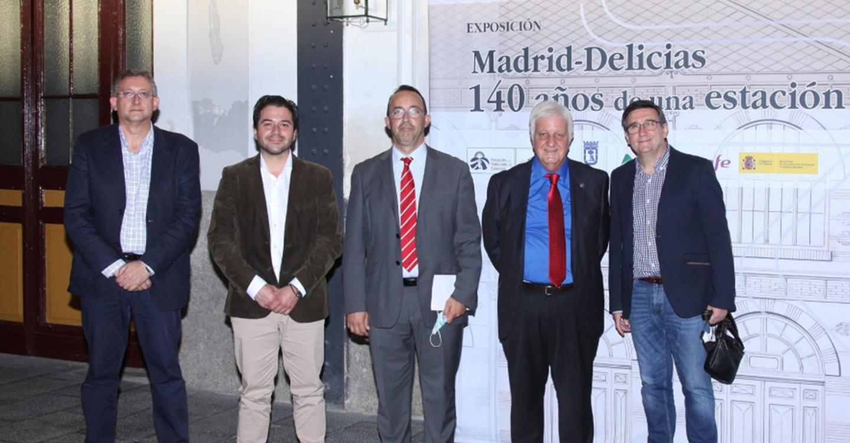 """La BAM presenta en Madrid el libro """"Historia del ferrocarril en Ciudad Real. Primera parte (1846-1941)"""""""