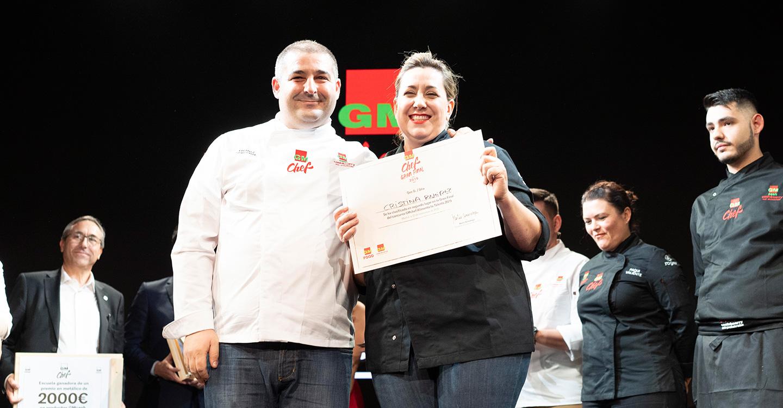 """La manchega Cristina Ramírez segunda clasificada de la 4ª edición del concurso GMchef """"Alimenta tu Talento"""" 2019"""