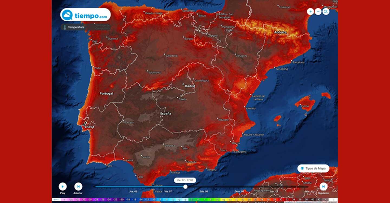 Mañana podría llegar la segunda ola de calor del año