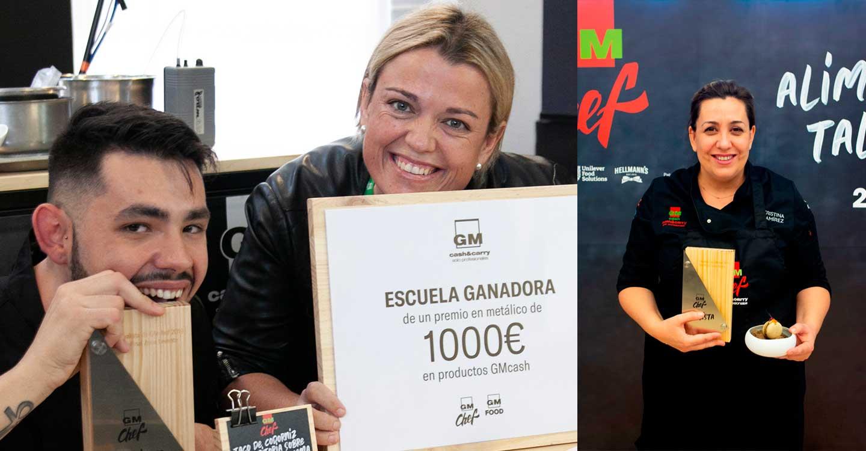 """Los manchegos Cristina Ramirez y José Luís Pascual representarán a Castilla la Mancha en la gran final del concurso de tapas GMchef """"Alimenta tu Talento"""" 2019"""