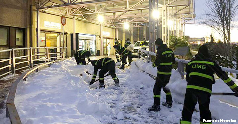 Información del Ministerio del Interior a las 10:00 del día 13 de enero de 2021 sobre incidencias y respuestas frente a la ola de frío
