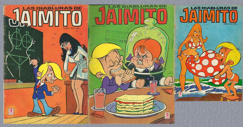 """La niñez de los años 50-60 (X) : """"Jaimito"""""""