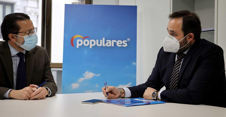 Núñez alaba la política fiscal de la Comunidad de Madrid y avanza que seguirá proponiendo a Page que imite el 'modelo Ayuso' en Castilla-La Mancha