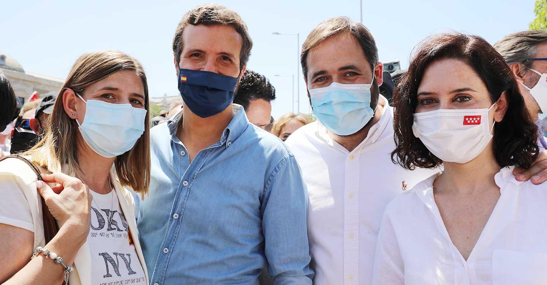 """Núñez avisa a Sánchez y a Page que """"España está por encima de todos"""" y que la defensa de la unidad de nuestro país es ahora mismo """"lo más importante"""""""