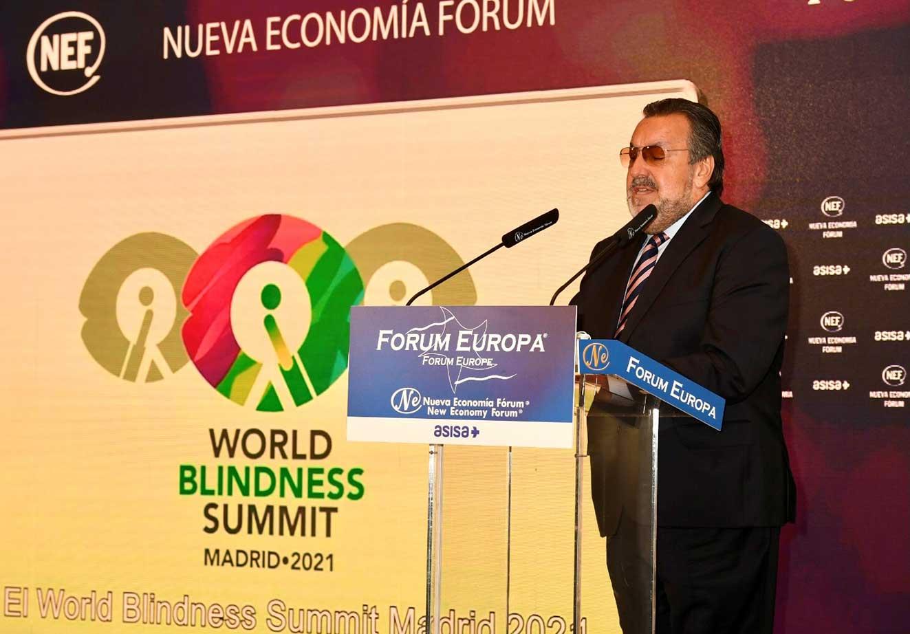 El Grupo Social ONCE trae a Madrid la mayor Cumbre Mundial de la Ceguera de la historia, con 3.500 participantes con discapacidad visual de 190 países