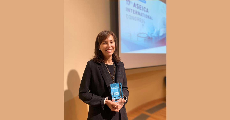 La oncóloga Pilar Garrido, premiada por contribuir al desarrollo de la mujer en la Ciencia
