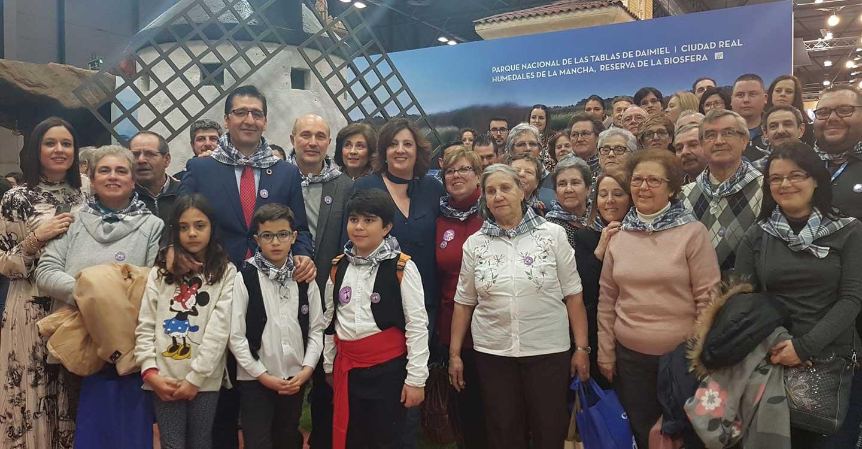 La música de los mayeros de Piedrabuena alegra el sábado de FITUR, Fiesta que aspira a ser declarada de Interés Turístico Nacional