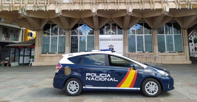 La Policía Nacional detiene a un conductor que circulaba a 190 kilómetros por hora con su pareja y un menor de 2 años a bordo del vehículo