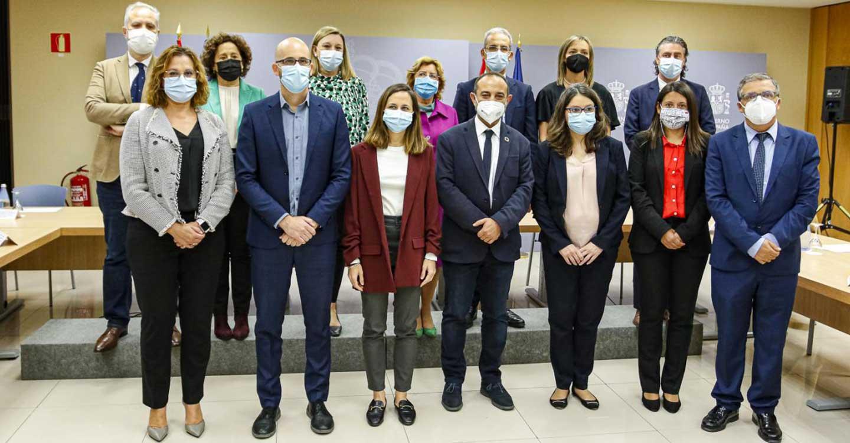 Primera reunión presencial en el Ministerio Derechos Sociales y Agenda 2030 tras la pandemia