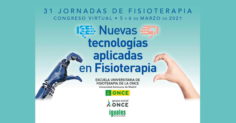 Robótica, realidad virtual, Apps y videojuegos, en las 31 Jornadas de la Escuela de Fisioterapia de la ONCE