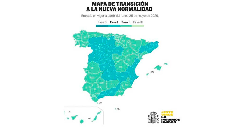 """Salvador Illa: """"El lunes toda España estará, al menos, en fase 1 y el 47% de la población en fase 2"""""""