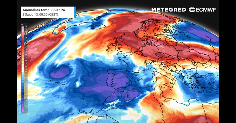 Las temperaturas irán recuperándose poco a poco