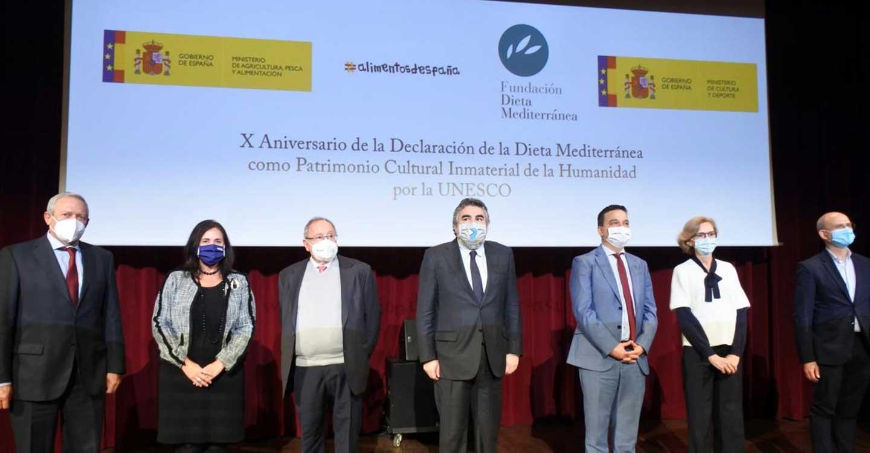 Unidad en la defensa de la Dieta Mediterránea en el décimo aniversario de su declaración como Patrimonio Cultural Inmaterial de la Humanidad