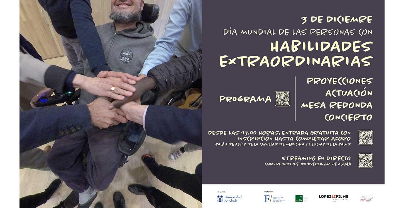 La Universidad de Alcalá celebra el 3 de diciembre el Día Mundial de las Personas con Habilidades Extraordinarias