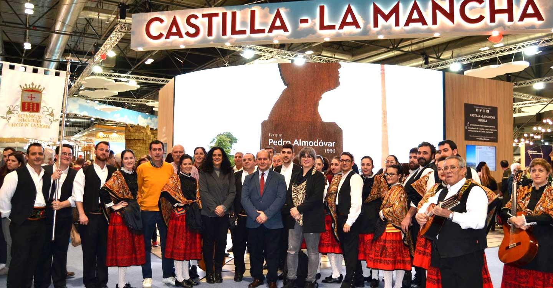 El Fandango se hace internacional en FITUR 2020 de Madrid para promocionar los recursos turísticos de Villarrubia de los Ojos