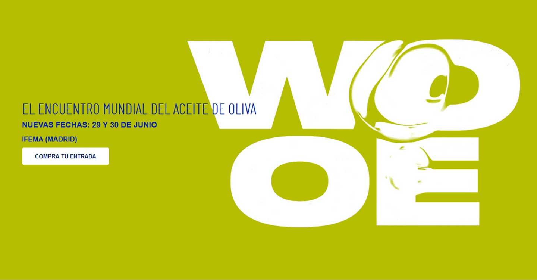 La WOOE se aplaza al 29 y 30 de junio