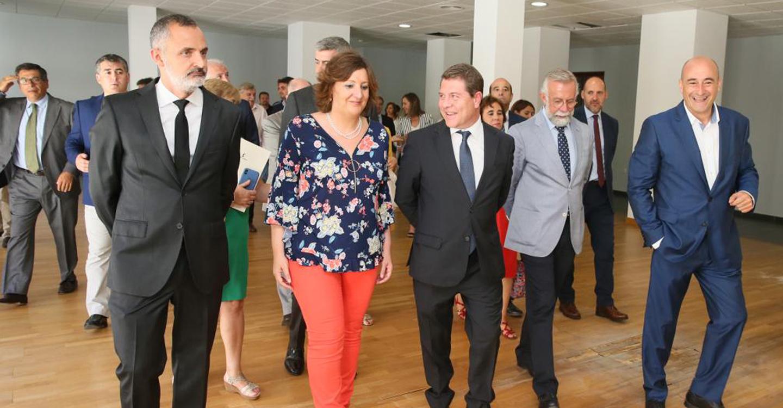 El presidente García-Page plantea para Talavera de la Reina un escenario de progresión con horizonte en el año 2022 que impulse el desarrollo de la Ciudad de la Cerámica