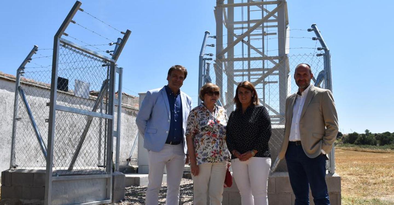 El Gobierno regional destaca la instalación de antenas de 4G alimentadas con fibra óptica para facilitar la migración en el futuro a la tecnología 5G