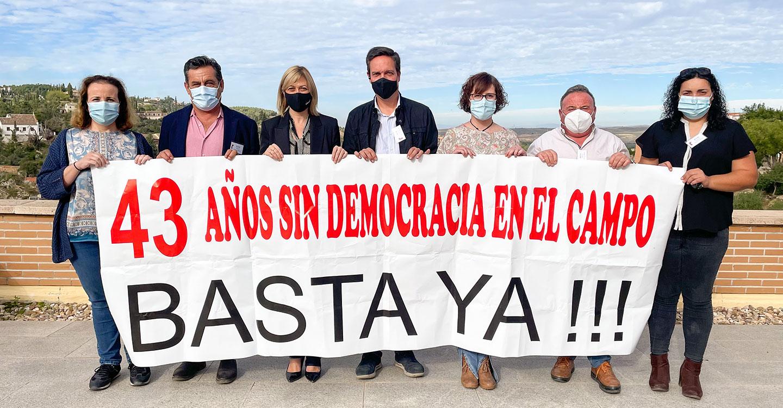 Ciudadanos pide libertad en el campo para que agricultores y ganaderos puedan votar a sus representantes en las urnas