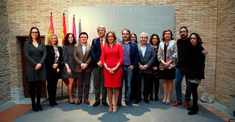 Milagros Tolón adelanta que las condiciones generadas permitirán la creación de 2.000 empleos en Toledo en los próximos años
