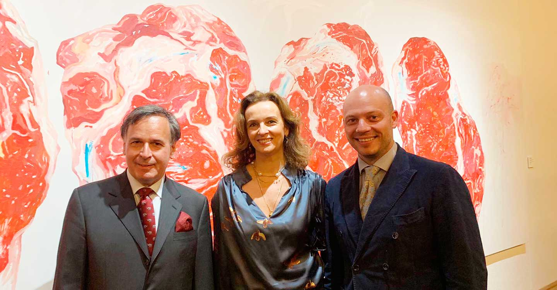 Bodegas Verum en la inauguración de la colección Roberto Polo en el Museo de Arte Contemporáneo de Castilla-La Mancha