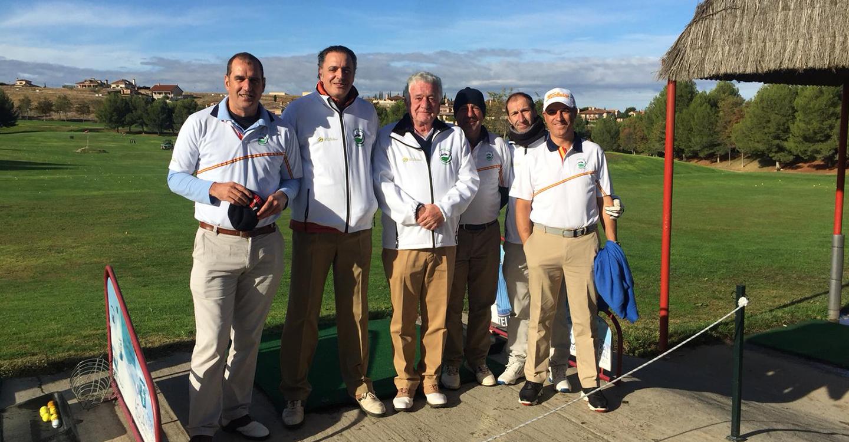 El Club de Golf Tomelloso subcampeón en la V Liga Senior de Castilla-La Mancha