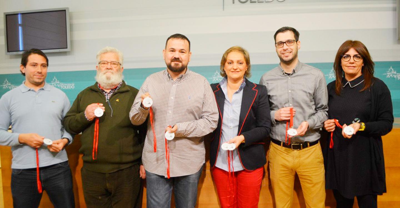 El Gobierno de la Diputación de Toledo muestra su apoyo y reconocimiento al cross nacional de sonseca